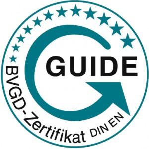 ausgebildete Guides nach EU-Norm