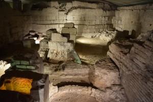 Köln unterirdisch: Überreste des römischen Praetoriums (Statthalterpaläste aus dem 1. - 4- Jh. n.Chr.
